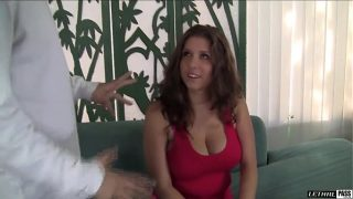 Alex Chance shakes that ass and bounces them tits before getting dicked down