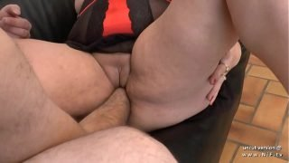 Amateur BBW french mom sodomized and fist fucked