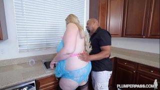 Big Tit Blonde BBW MILF Swallows Shane Diesel Huge BBC