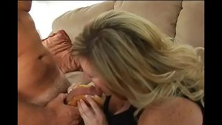 Big tittied plump woman is performing actually great fellatio xxx