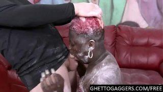 Black BBW throated hard & degraded