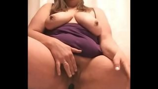 Busty BBW camgirl cums on camera more at www.camvids.live