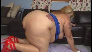 horny bbw with big ass having hardcore three some