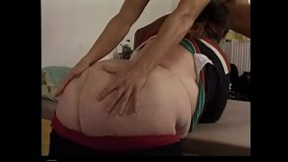 Huge BBW wakes up a hotel guest
